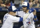 Diaz homers in 7-run 1st inning, Blue Jays beat Rays 10-3