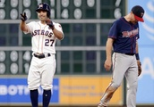 Bregman, Gattis homer in Astros' 9-1 win over Twins