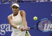 The Latest: Keys tops Suarez Navarro to reach 2nd US Open SF