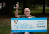 Retired Yorkshire policeman scoops £250,000 as he becomes first ever Health Lottery Mega-Raffle winn