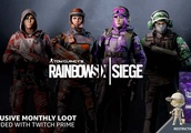 Free Rainbow Six Siege Exclusive Gear for Amazon / Twitch Prime Members