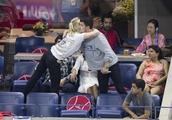 Priyanka Chopra and fiance Nick Jonas attend the 2018 US Open with Priyanka Chopra? s Mother Madhu C
