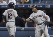 Indians remove Chief Wahoo from sleeve for series in Toronto
