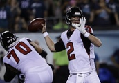 The Latest: Falcons lead Eagles 6-3 at half of NFL opener