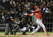 LEADING OFF: Ohtani slugging away with bad elbow, Gio debut