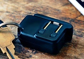 The Chargerito is a super tiny iPhone charger that you can attach to your keys