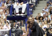 Serena Williams Confronts Umpire Carlos Ramos and US Open Officials at the US Open in New York