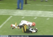 VIDEO: Watch Artie Burns Grab Jarvis Landry by the Neck and Throw Him to Ground