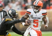 Browns settle for tie against Steelers after blocked field goal in OT