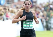 Mo Farahs Wife Tania Finishes the Great North Run in Newcastle