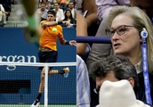 Nobody was more invested in the US Open men's final than Meryl Streep