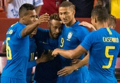 WATCH: Neymar, Coutinho, Richarlison Lead Brazil's Rout of El Salvador