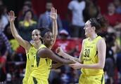 Stewart, Storm surge past Mystics 98-82 for WNBA title