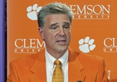 No. 2 Clemson forges ahead, playing game with storm looming
