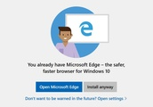 Windows 10 has started 'warning' users not to install Chrome or Firefox