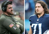 Texans TEs coach Tim Kelly facing younger brother, Titans OT Dennis Kelly