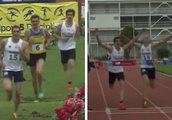 Spectacular sprint finish gives Britain's Jamie Cooke modern pentathlon world title after rival