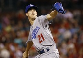 Buehler, Dodgers blank Cards to draw even in wild-card race