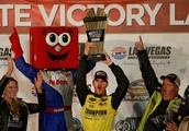 Grant Enfinger Scores NASCAR Truck Series Playoff Win at Las Vegas Motor Speedway