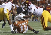 Texas dominates No. 22 USC in front of record crowd