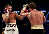 Alvarez downs Golovkin with majority decision win