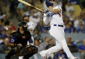 Dodgers top Rockies 8-2, move back into 1st in NL West