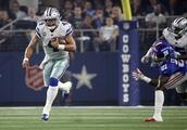 Cowboys see Prescott's runs as another way to help Elliott
