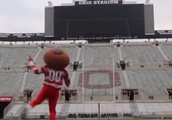 VIDEO: Brutus Buckeye Shows Up Browns Kicker With Long Field Goal
