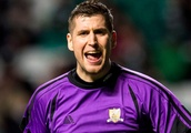 Alloa keeper picks out display against Celtic as top moment in 100 appearances