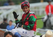 John Moore gets 'challenging' gelding Just Not Listening over the line with a little bit of help fro