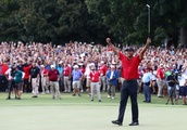 LOOK: Amazing Photos, Video of Tiger Woods' Tour Championship Win