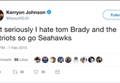 Kerryon Johnson's Old Tweets Reveal He Hates the Patriots as Much as the Rest of Us