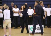 Meghan Markle shows off competitive streak with Prince Harry during sports event - while wearing sti