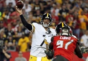 Big Ben's three TD passes lift Steelers past Bucs