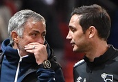 Jose Mourinho reveals what he said to Frank Lampard after Derby's Carabao Cup win over Manchester U
