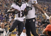 Flacco throws 2 TD passes, Ravens trip up Steelers 26-14