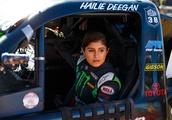 Deegan, 17, is first female winner in NASCAR K&N series