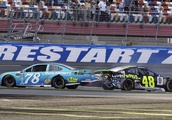 Jimmie Johnson knocks himself out of playoffs with 'mistake'