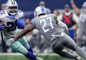 Elliott's Workload, Key Catch Help Cowboys Top Lions 26-24