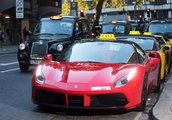 Forget black cabs! SUPERCAR taxi service launches in the UK - but there's a catch