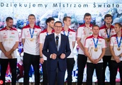Poland volleyball team met with Prime Minister