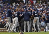'We just took it': Brewers celebrate at Wrigley after beating Cubs for division title