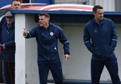 Kilwinning Rangers boss Chris Strain tells players to keep sleeves rolled up for fresh assault on le