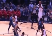 VIDEO: Carmelo Anthony Totally Bricks His First Preseason Shot Because of Course He Did