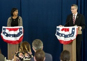 Hayes, Santos differ on many issues at 5th District debate