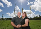 Texas couple sue their son's school district over football injury