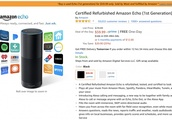 [Deal Alert] Amazon Echo first-gen refurb is $60 ($20 off) for today only