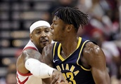 Oladipo leads Pacers over Rockets in their preseason opener