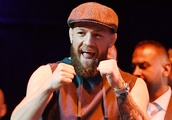Conor McGregor just delivered a fiery speech predicting a devastating KO over 'smelly Dagestani rat