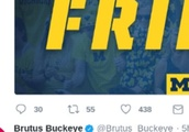 Brutus Buckeye Trolls Michigan on Twitter in Incredibly Petty Fashion